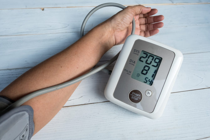 Vysoký tlak krevní